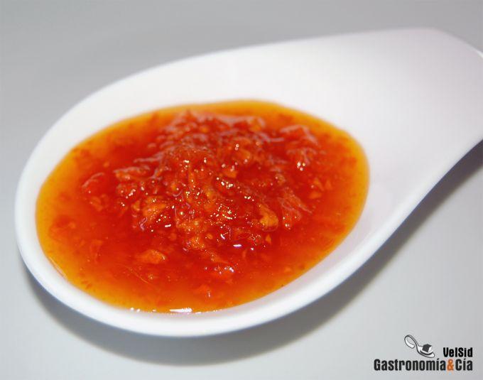 Mermelada de zanahoria al jengibre