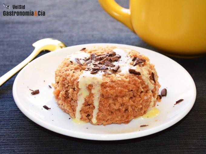 Bizcocho De Manzana Y Canela En Taza (sin Huevo)