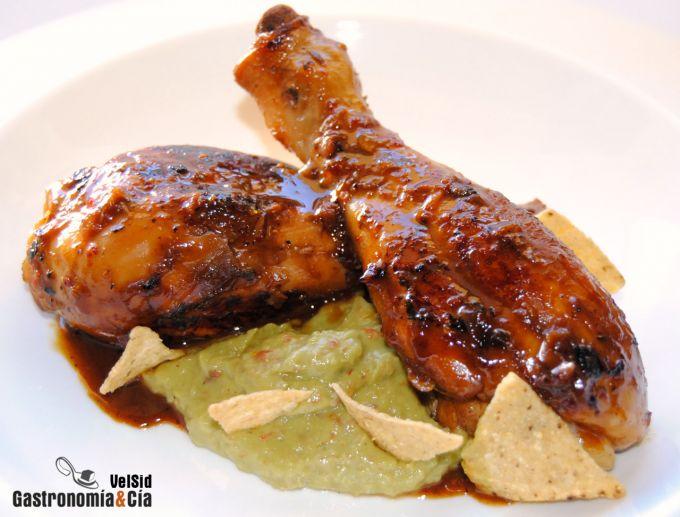 Muslos de pollo con naranja y soja gastronom a c a for Que cocinar con pollo