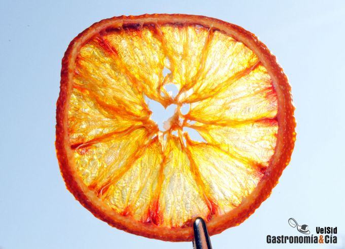 C mo hacer naranja deshidratada gastronom a c a - Como hacer color naranja ...