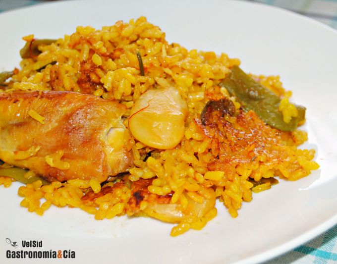 Cocina Valenciana Recetas Receta de Paella Valenciana