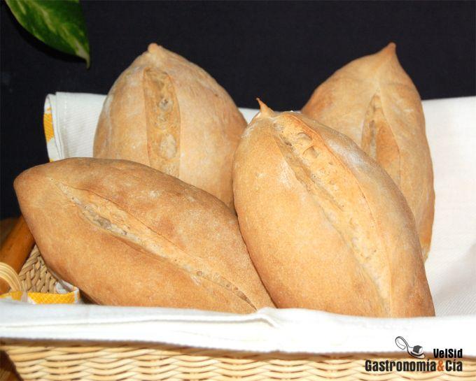 Pan de centeno blanco