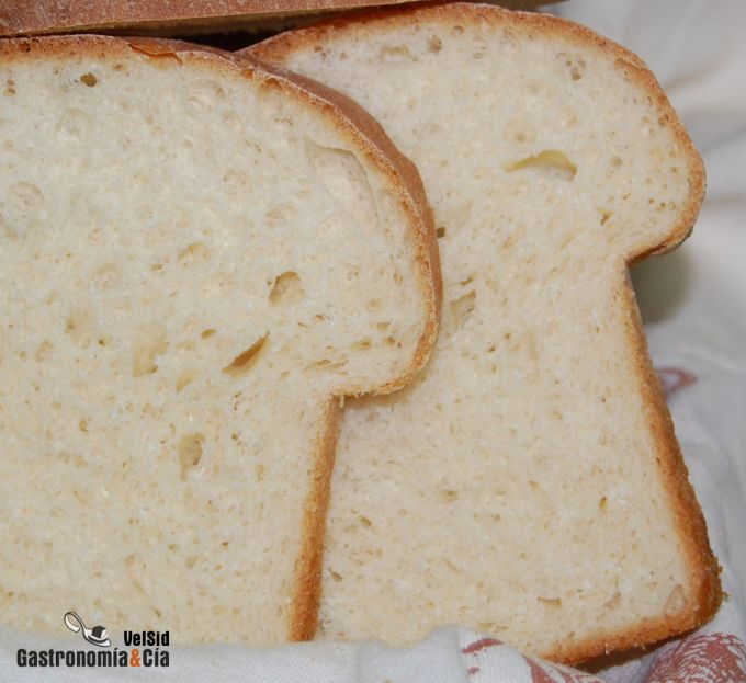 Pan casero enriquecido
