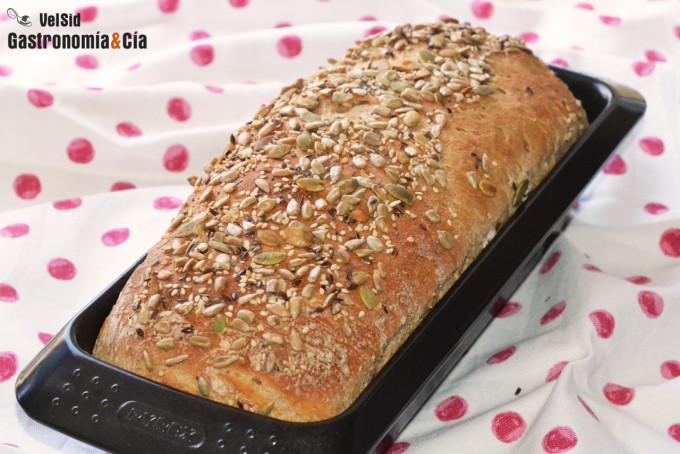 Pan de molde de espelta y leche fermentada