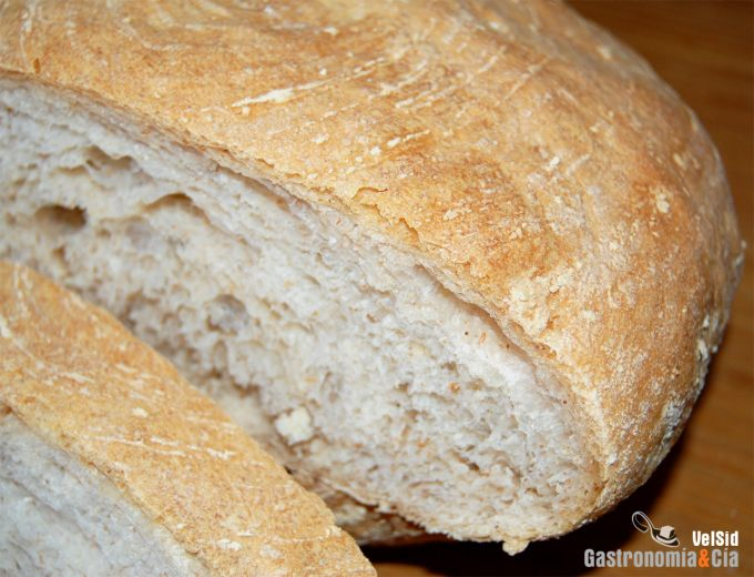 Pan fácil con esponja
