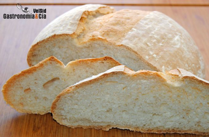 Pan blanco, masa básica
