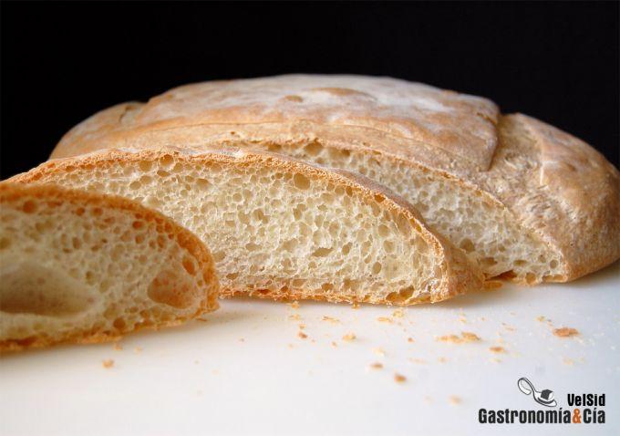 Pan con harina de fuerza Aragonesa