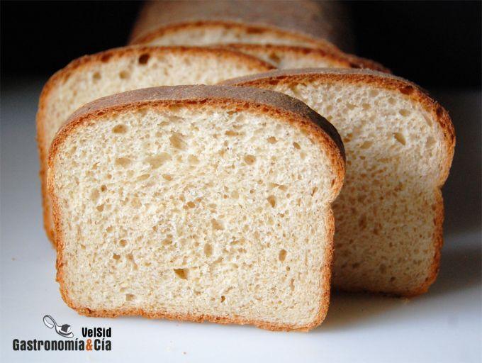 Pan de molde y avena