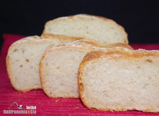 Pan de molde de panadería