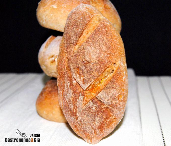 Pan de naranja confitada