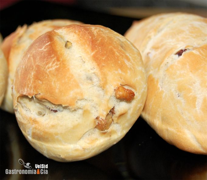 receta de pan de nueces y pasas