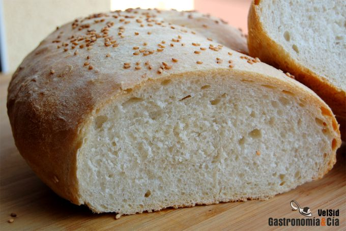 Pan con pâte fermentée