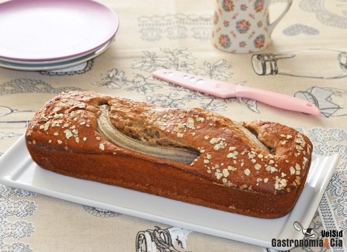 Receta de pan integral de avena y miel