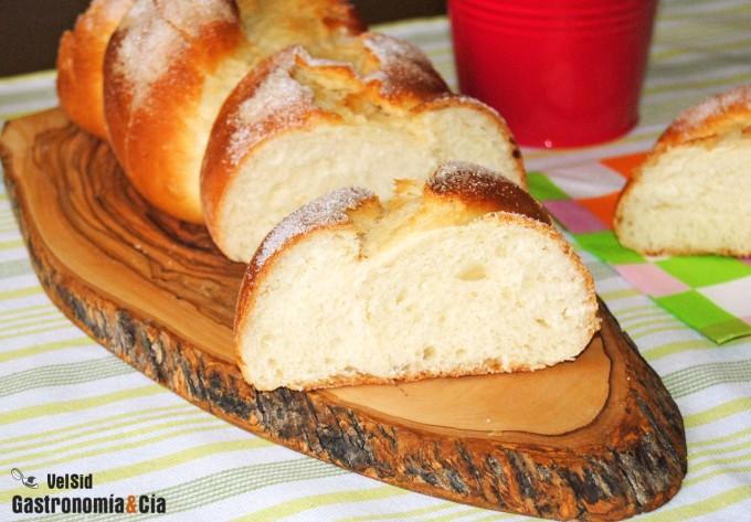Pan de azúcar tipo brioche
