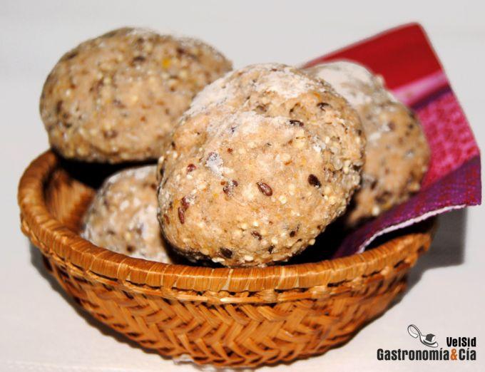 Panecillos de cereales y semillas