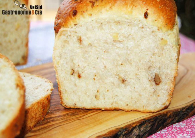Receta de pan de molde enriquecido
