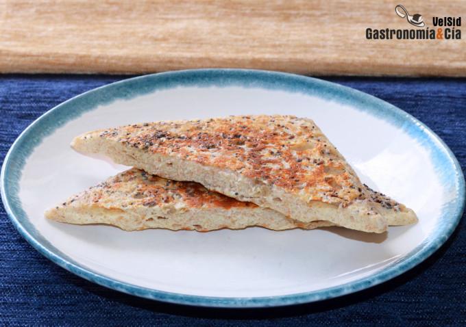 Cómo hacer un 'pan' instantáneo ideal para sándwich, ti