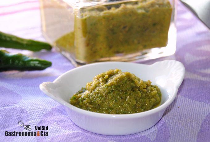 Pasta de curry verde casera