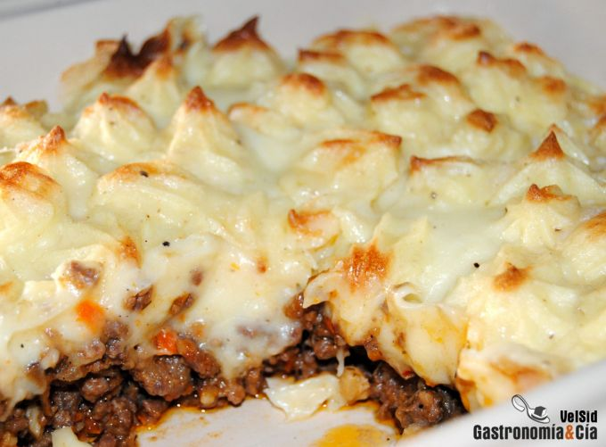 Pastel de carne o Cottage pie