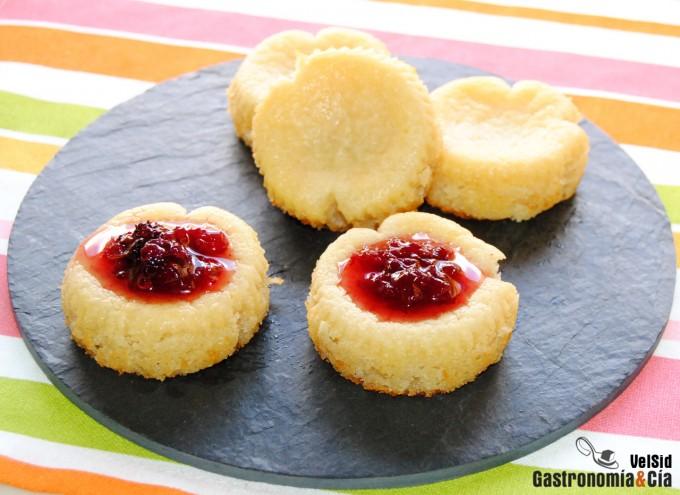 Receta de Pastelitos de queso (sin huevo)