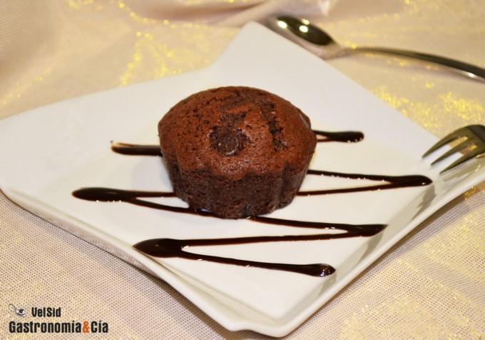 Pastelitos doble chocolate