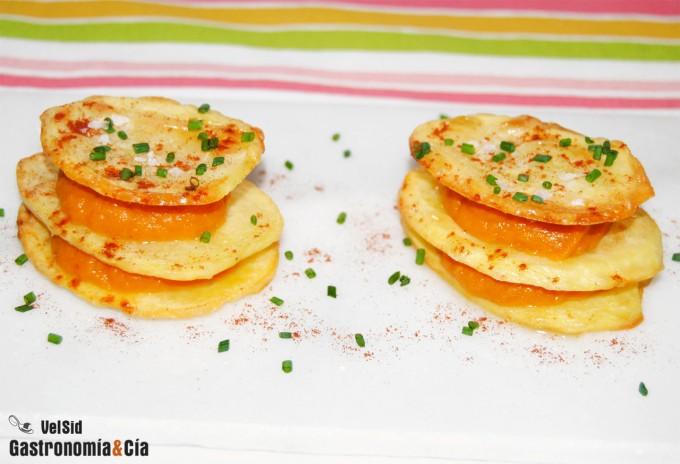 Patata, calabaza y pimentón ahumado