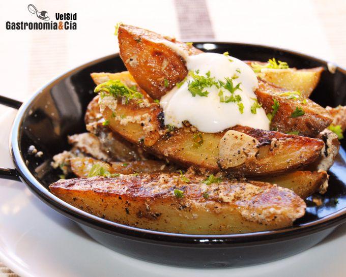 Patatas especiadas