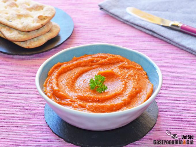 Paté de tomate asado