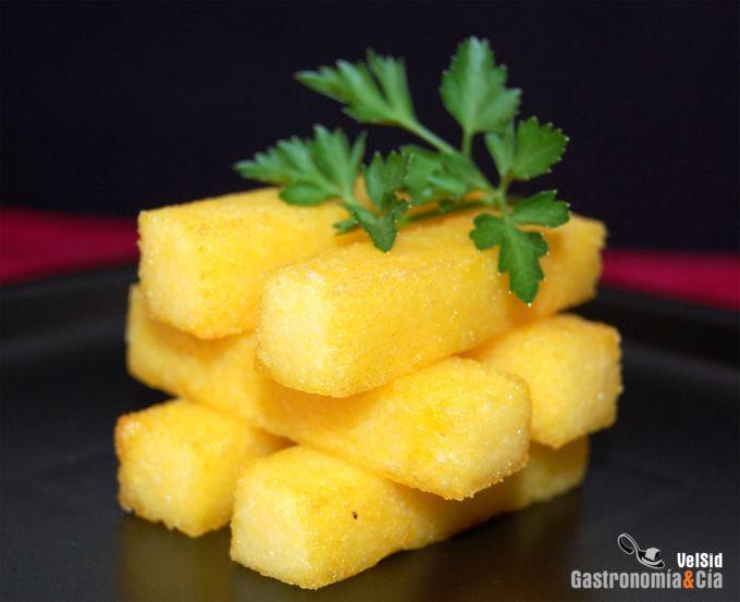 Polenta frita