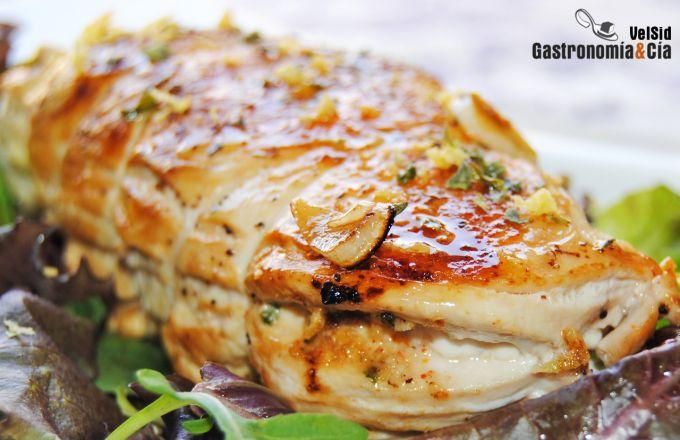 Pollo con limón y especias picantes