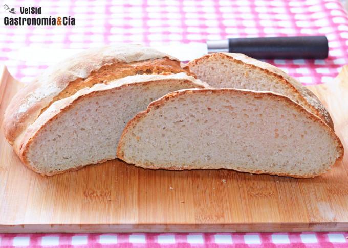 Receta para pan con masa madre natural