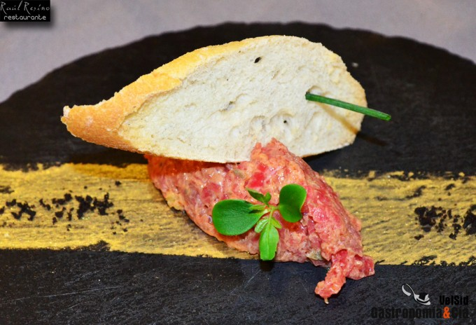 Steak tartar de solomillo de buey a nuestra manera