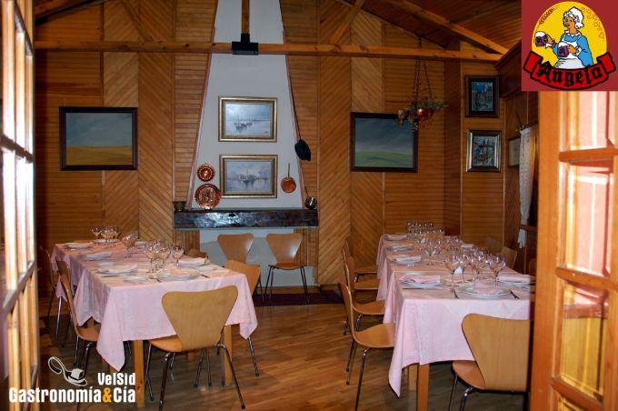 Restaurante ngela gastronom a c a for Cocina vanguardia definicion