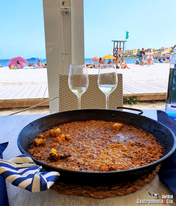 Restaurante El Barco. Cala Talamanca