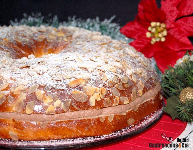 Roscón de Reyes relleno