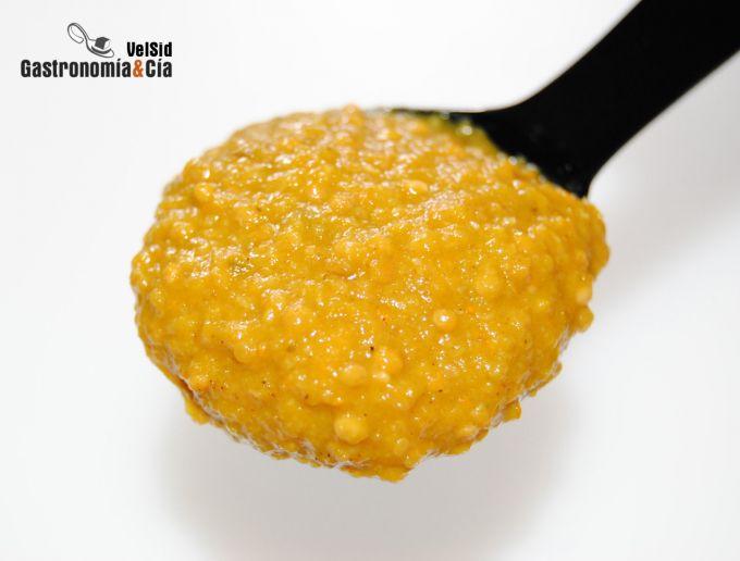 Salsa de mostaza dulce