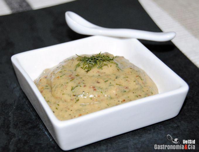 Salsa de mostaza y eneldo