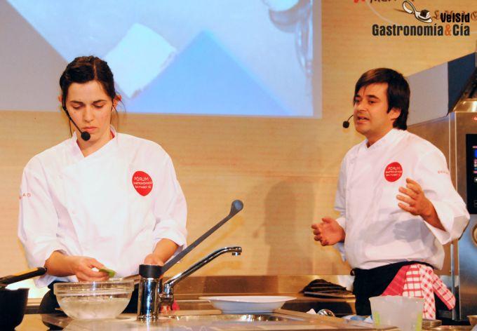 Alberto González y Raquel Alonso. Silabario Restaurante