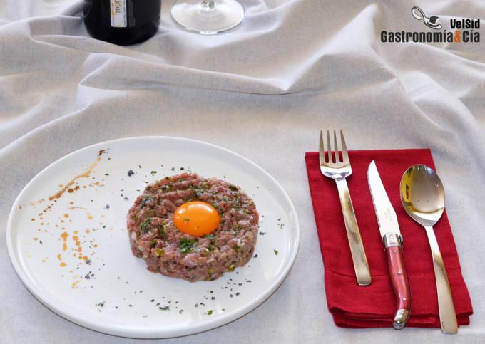 Filete o bistec tártaro