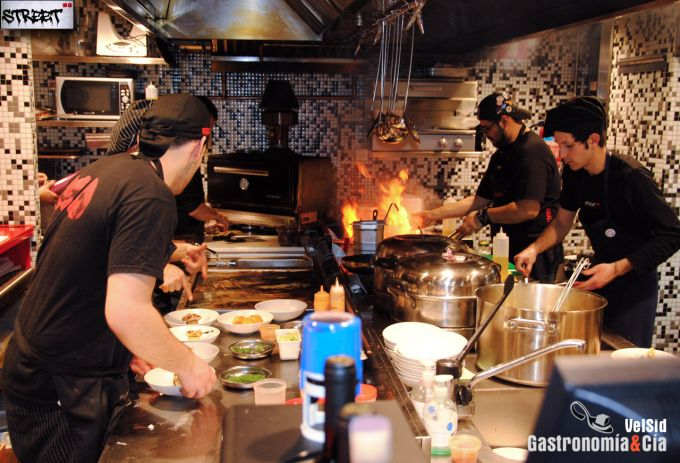 StreetXO, cocina fusión en Madrid