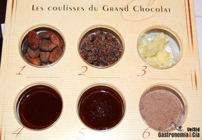 Taller de chocolate Valrhona