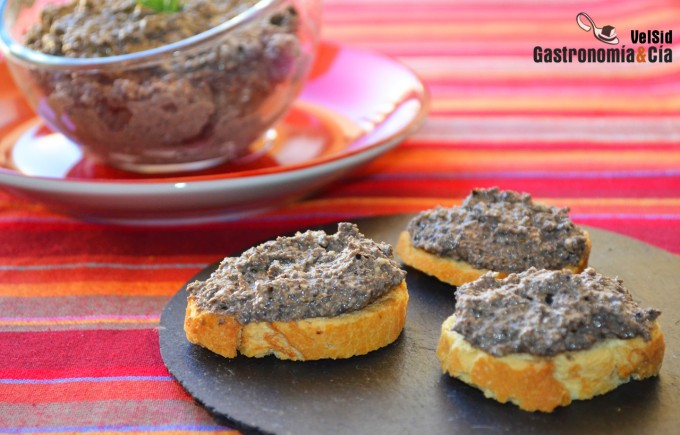Tapenade con nueces