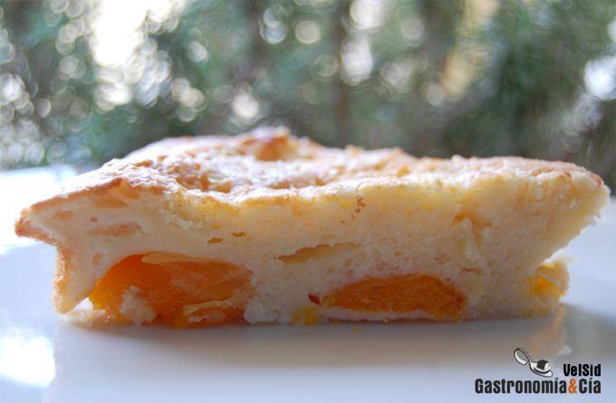 Tarta de albaricoque
