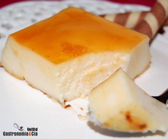 tarta de queso nata liquida