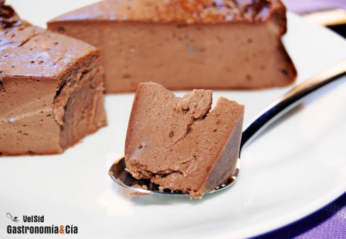 Receta de tarta de queso y cacao