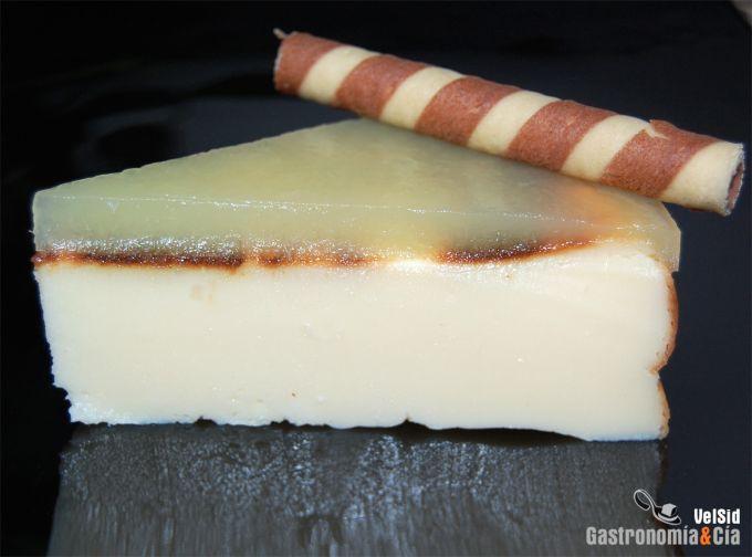 Tarta de queso con FussionCook
