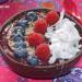 Receta de açai bowl con aguacate