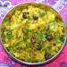 Arroz pilaf con lentejas amarillas y pistachos