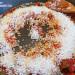 Arroz en paella con pulpo y galeras
