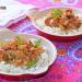 Arroz thai con pollo, shimeji y anacardos